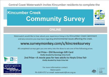 Online survey flyer