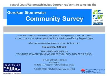 Online survey flyer - Gorokan Page 1