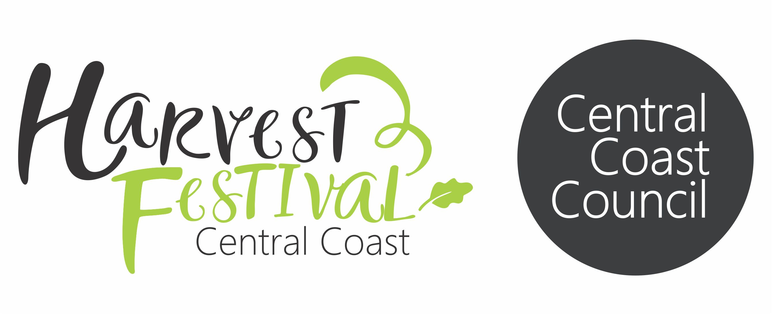 Colour Harvest Festival and Central Coast Council lockup